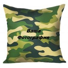 Фото на подушку цвета хаки